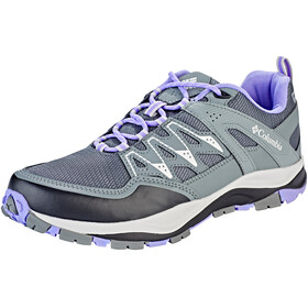 Columbia Wayfinder Outdry - Chaussures Femme - gris/violet